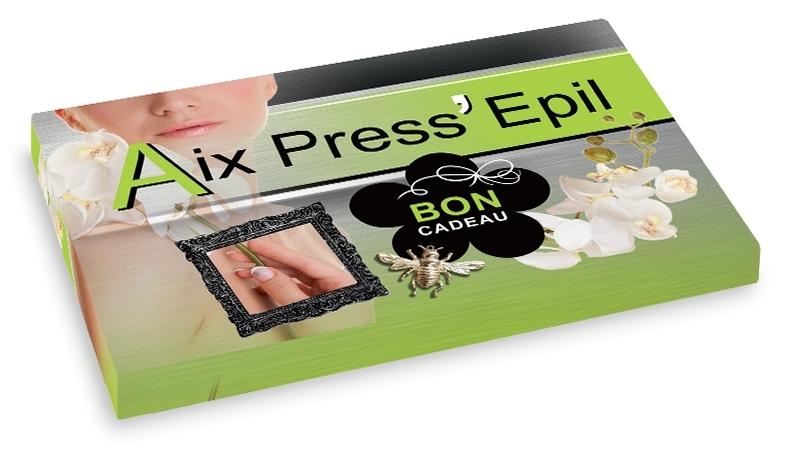 Bon cadeau Aix Press'Epil